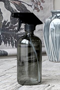 Flaske m. forstøver 480 ml. Kul, Chic Antique